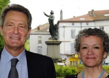 Maire urbain et élue rurale candidats pour Macron